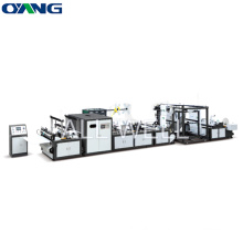 ONL- XB700 Automatic Online Handle Attached Non Woven Box Bag Making Machine