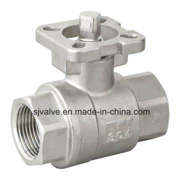 Stainless Steel 2PC Ball Valve ISO 5211