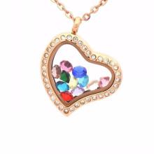 Детали подвески бесплатных образцов плавающей медальон кулон ожерелье ювелирные изделия