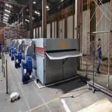 Séchoir à rouleaux en acier ou convoyeur à treillis métallique dans des séchoirs