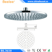 Beelee 10 pouces à haute pression tête de douche de l'eau de mélange au plafond