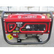 Gerador de energia portátil vermelho, gerador de gasolina Home (HH3000-A)