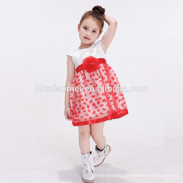 2017 Summer Floral Clothes Princess Dresses Children Birthday Dress For Baby Girl Of 2 Year Old