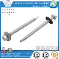 Hot DIP Galvanized Self Drilling Screw with EPDM Bonded Washer