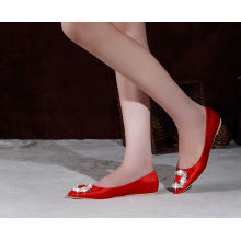 New Style Fashion Flat Wedding Shoes (HCY02-1824)