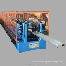 2016 blue CZ purline truss exchange rolling forming machine made in china