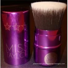 Escova de maquiagem Kabuki Flat Top recarregável