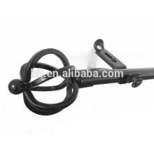 Drapery Hardware Perfect Quality Twisted Lines Finial Curtain Rod
