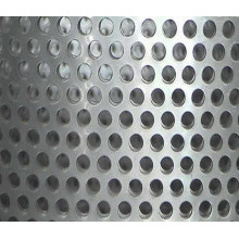 Hoja de agujero de perforación revestida de zinc / Malla de metal perforado