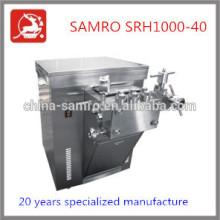 directa fabricación 1000L/H 40 Mpa apv homogenizador