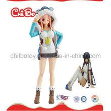Lovely Girl Plastic Figur Spielzeug (CB-PF017-S)