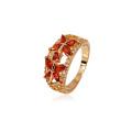 11206- Venta al por mayor de China Xuping 18K plateó el anillo de mujer de oro