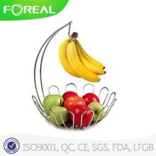 Cesta de árvore de fruto de espectro e titular da Banana, cromo