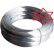 Atacado alibaba fio de ferro galvanizado barato / fio galvanizado para ligação