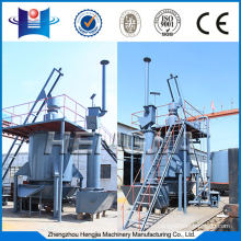 Environmental one stage hot coal gasifier gasification for lime kiln