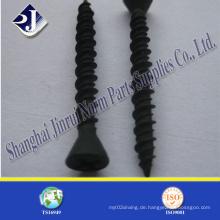 Black Finish Selbstschneidende Schraube