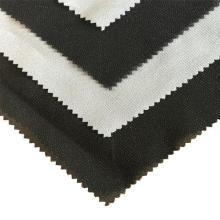 100% poliéster tecido com tampa fusível interlining
