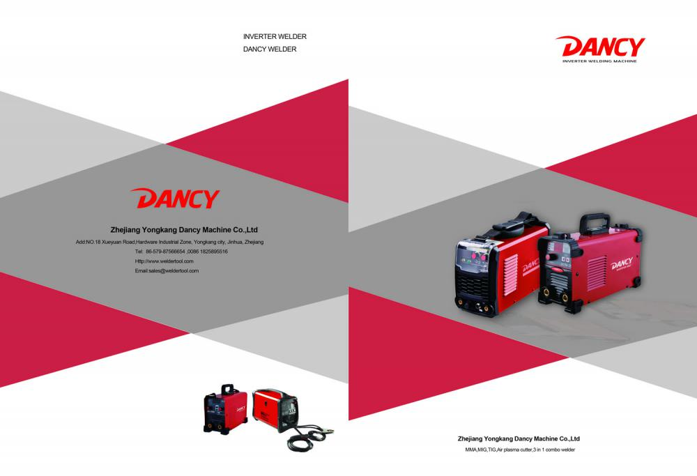 Dancy welding machine catalogue