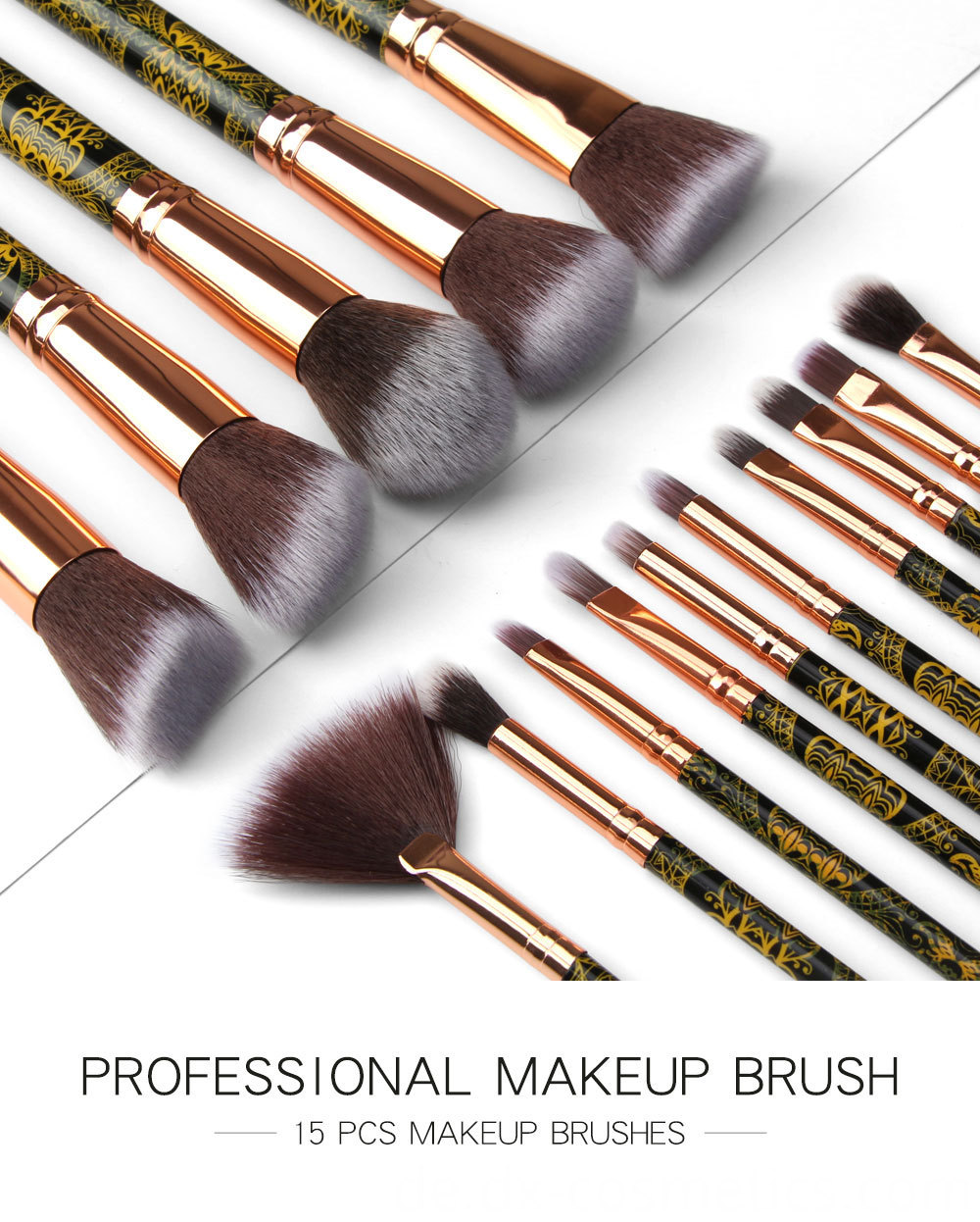 8 Pcs Eye Makeup Brushes Set 1