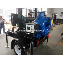 irrigation pump with trailer and diesel engine pumps