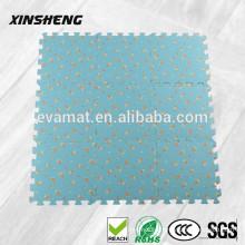 Decorative high quality rubber floor mats, EVA foam tatami anti slip rubber mat