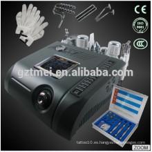 Limpiador de piel dermoabrasión de diamante ultrasónico martillo caliente y frío equipo de belleza facial TM-N96