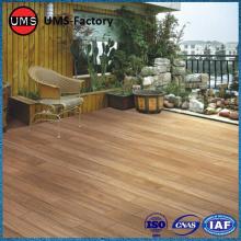 Faux wood look tile herringbone pattern
