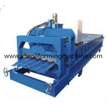 Máquina de estampagem de azulejos de telhado revestido de aço de cor (XH1100)