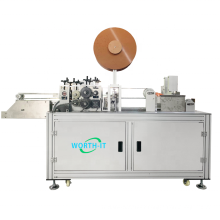 1 2 disposable dental surgical tie on face mask making machine