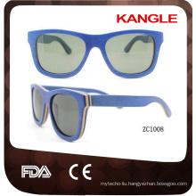 classical 400 uv protect wood sunglasses