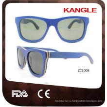 классическая 400 УФ защиты древесины солнцезащитные очки