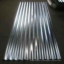 Material de construção de chapa de aço ondulado laminado a frio