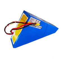 USA Free Shipping 72v Battery Triangle 72V 20Ah Electric Bicycle Battery Ebike Battery for 2000w 3000w bike