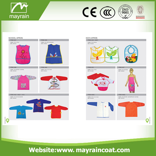 Disposable PE Kids Smock