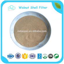 hochwertiges natürliches, gemahlenes Walnussschalenpulver