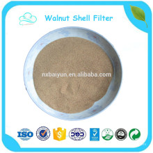 polvo de concha de nuez de tierra regular natural de alta calidad