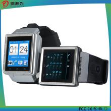 S6 Relógio Inteligente, Suporte 3G, GPS, Bluetooth, Microfone, Alto-falante, Slot para Cartão TF, Micro USB Slot, FM, WiFi
