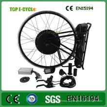 China Hersteller versandkostenfrei 48V 1000W elektrisches Fahrrad Umbausatz