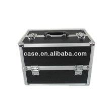 2013 new hot black aluminum make up case