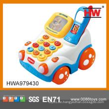 Lustige Zusammenstellung Spielzeug Plastik Handy Baby Spielzeug Bilder mit Licht und Musik