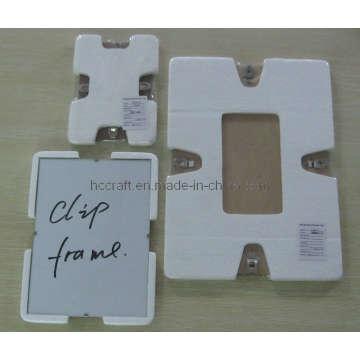 Cadre photo en verre clip pour décoration maison (640011)