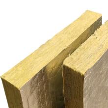 Placa de lã de rocha de folha de alumínio