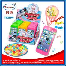 Projection écran mobile Musical jouet avec des bonbons