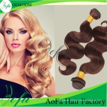 7A Grade Virgin Hair Weaving/Remy Hair Extension/Brazilian Human Hair