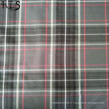 Tissu teint par fil tissé par popeline de contrôles de coton pour des chemises / robe Rlspo40-38