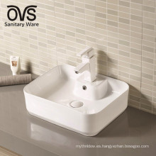 lavabo del baño del lavabo del fabricante de China / fregadero del lavabo de la mesa