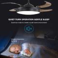 Lampes de ventilateur de plafond à LED invisibles Contemporay
