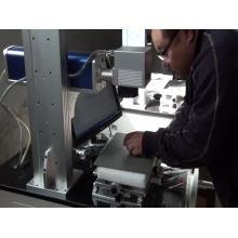 máquina da marcação do anel dos pássaros do laser da fibra / 20w máquina da marcação do laser da fibra do desktop