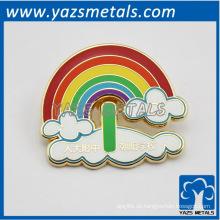 benutzerdefinierte Metall Regenbogen Platten