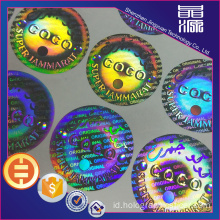 Secure Secure Seal Label Hologram Anti-palsu